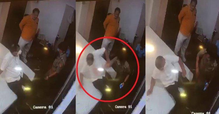 लाइन हाजिर हुई थप्पड़ मारने वाली महिला चौकी इंचार्ज ब्रम्हनाल सुमन यादव, व्यापारियों में था आक्रोश, अधिकारी बोले जनता से बदसलूकी बर्दाश्त नहीं...