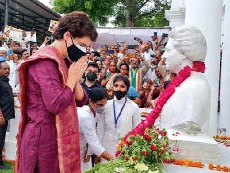 प्रियंका गांधी का यूपी चुनाव में सक्रियता एक चुनौती
