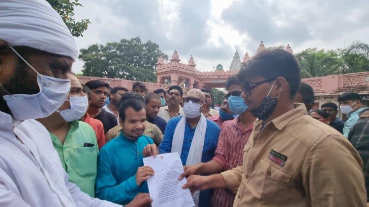 दृष्टिबाधित छात्रों को कांग्रेस का समर्थन: अजय राय बोले 1500 करोड़ का पीएम देते है सौगात दृष्टिबाधितों के लिए 16 लाख की नहीं हो पाती व्यवस्था, भाजपा बड़े-बड़े वादों तक सीमित...