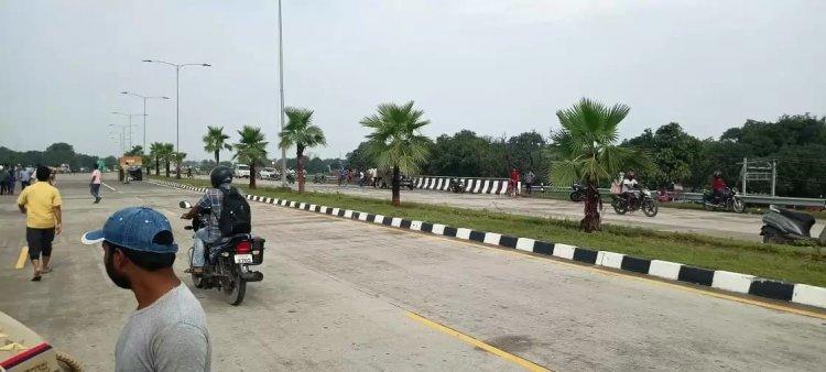 परिजनों को अपहरण की शंका: रिंग रोड पर हुए इक्कठा तो एडीसीपी पहुंचे, पुलिस बोली काम जारी है...