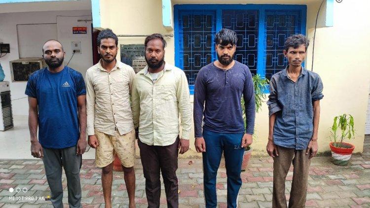 पकड़े गए तमिलनाडु के 4 टप्पेबाज और सहयोगी ऑटो चालक: 275 सीसीटीवी फुटेज से सुलझी गुत्थी, CP बोले लगेगा गैंगस्टर