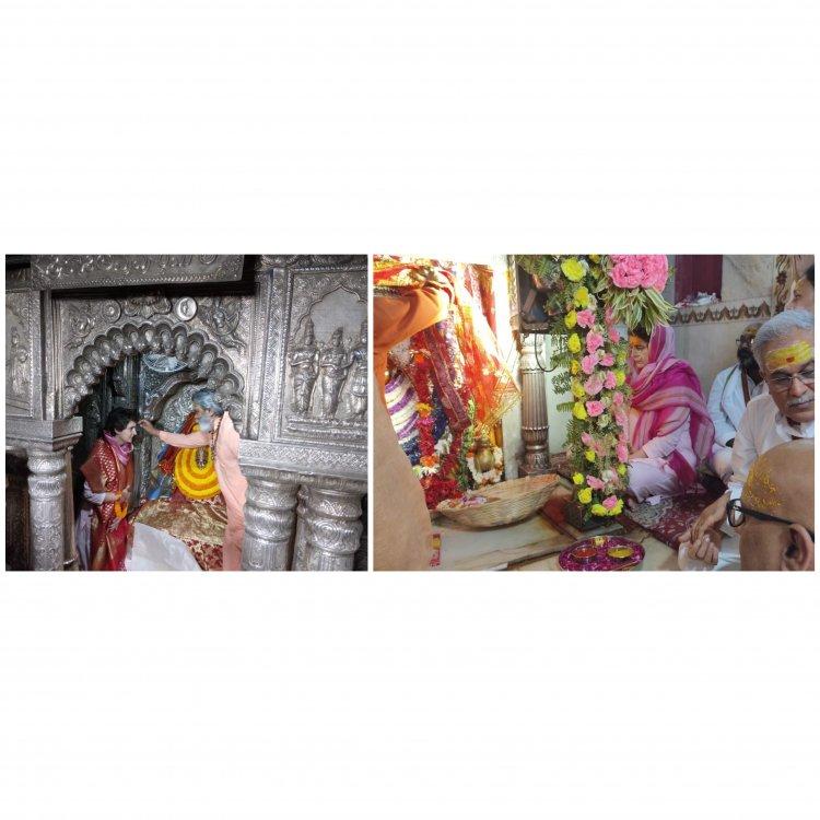 #PriyankaGandhi बाबा विश्वनाथ, माता अन्नपूर्णा के बाद पहुंची कुष्मांडा दरबार, काफिला रोकवाकर मिली युवा कार्यकर्ताओं से, देखें तस्वीरों में अब तक का अपडेट्स