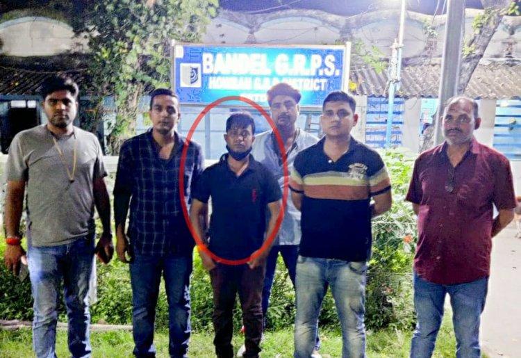 कोलकाता से गिरफ्तार हुआ शाइन सिटी से जुड़ा जालसाज आर्यन, कोर्ट ने जारी किया था NBW, CP ने किया पुलिस टीम को 50 हजार इनाम की घोषणा...